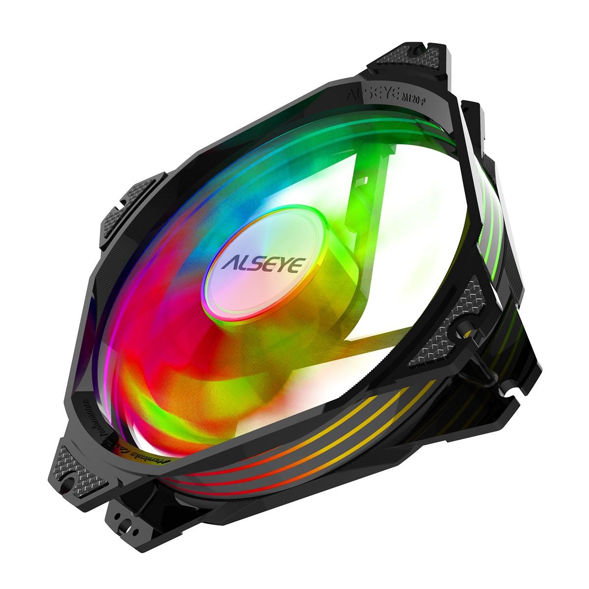 Water Cooler Alseye M240 Black, 240mm, RGB, Intel-AMD