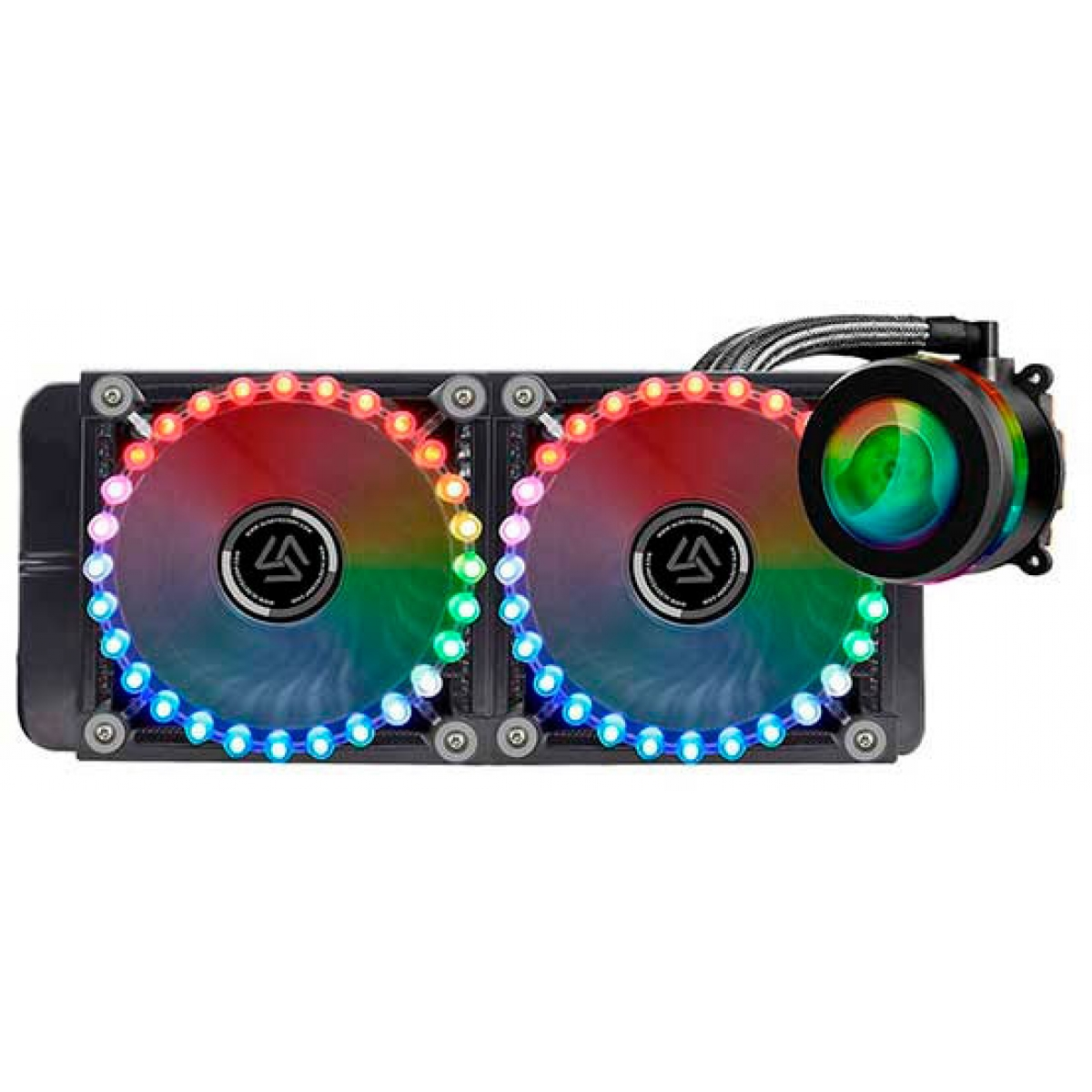 Water Cooler Alseye Reactor, RGB 240mm, Intel-AMD