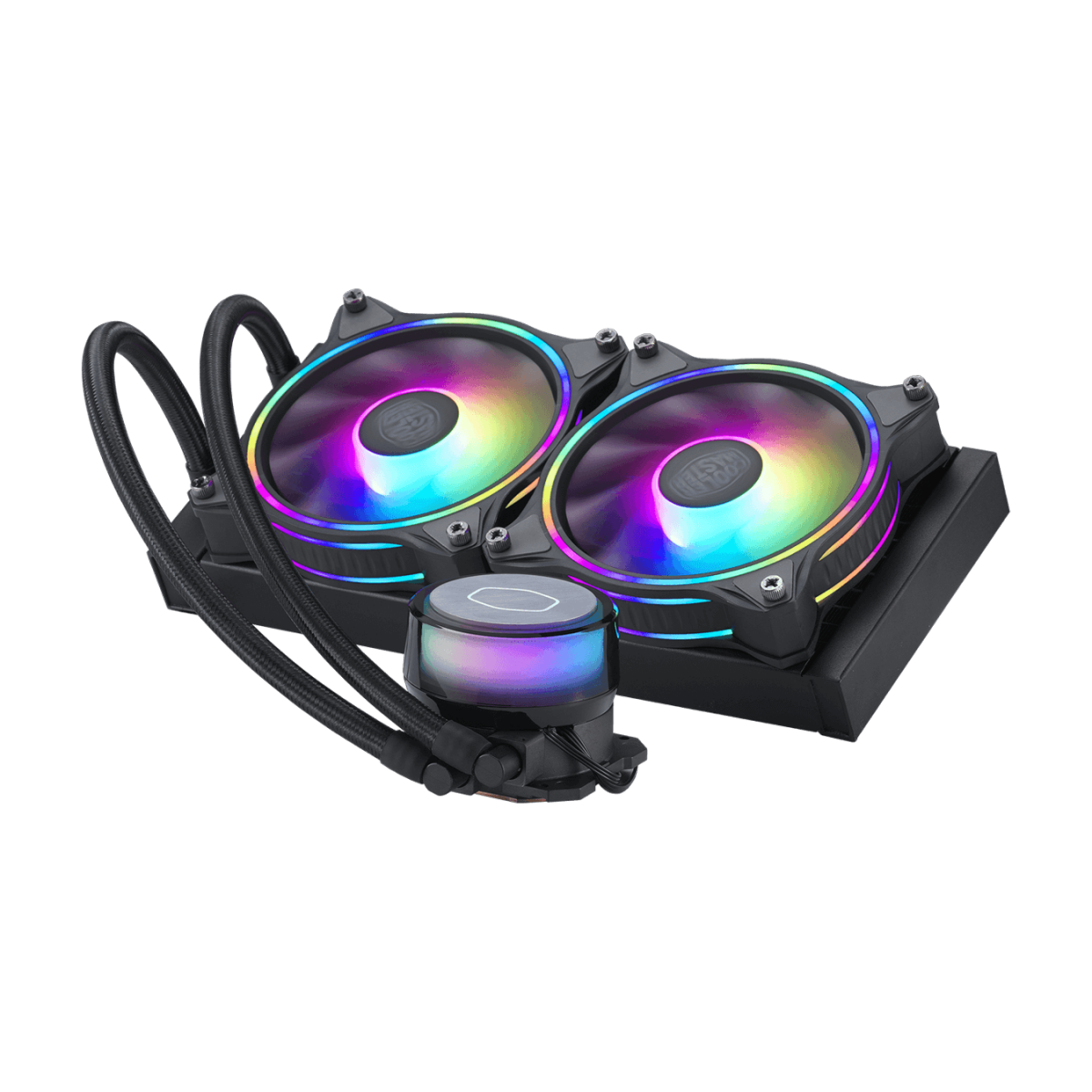 Water Cooler, Cooler Master Master Liquid ML240 ILLUSION, RGB, 240mm, Intel-AMD, MLX-D24M-A18P2-R1