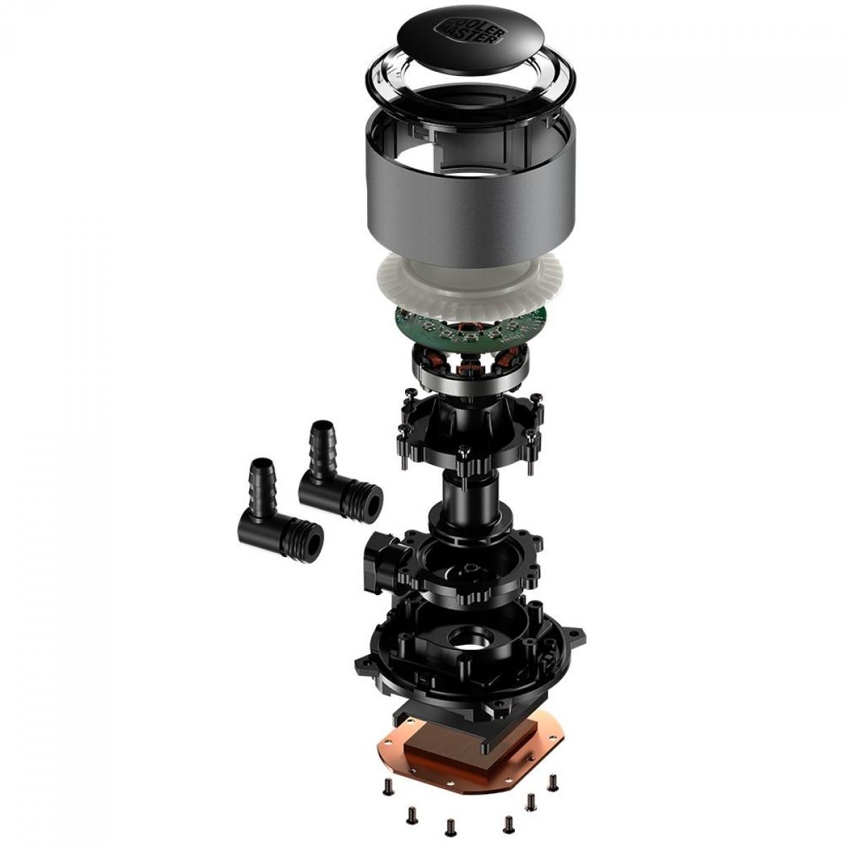 Water Cooler Cooler Master Master Liquid ML240RGB, RGB 240mm, Intel-AMD, MLX-D24M-A16PA-R1