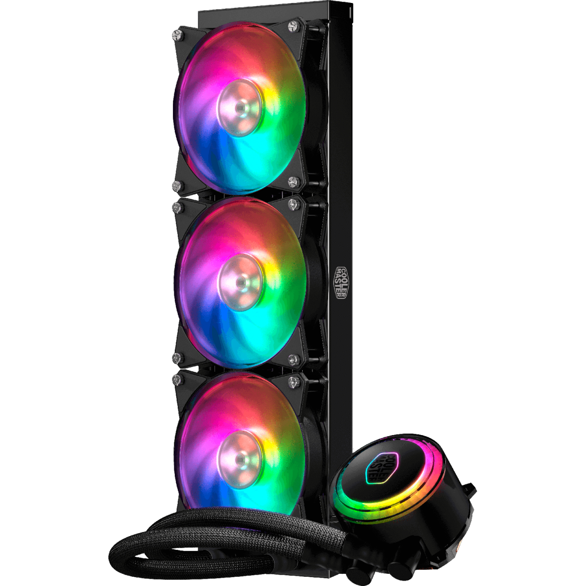Water Cooler Cooler Master Master Liquid ML360R, RGB 360mm, Intel-AMD,  MLX-D36M-A20PC-R1