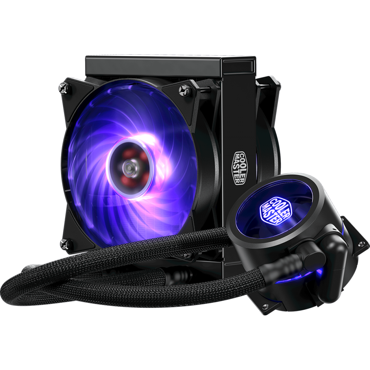 Water Cooler Cooler Master Master Liquid Pro 120 RGB 120mm, Intel-AMD, MLY-D12X-A20PC-R1