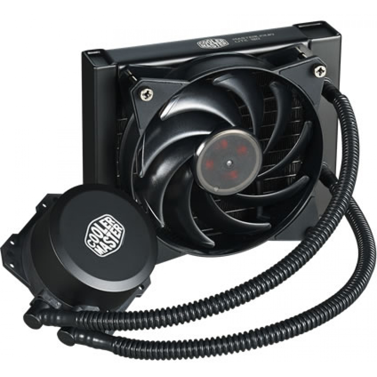 Water Cooler Cooler Master MasterLiquid Lite 120mm, Intel-AMD, MLW-D12M-A20PW-R1