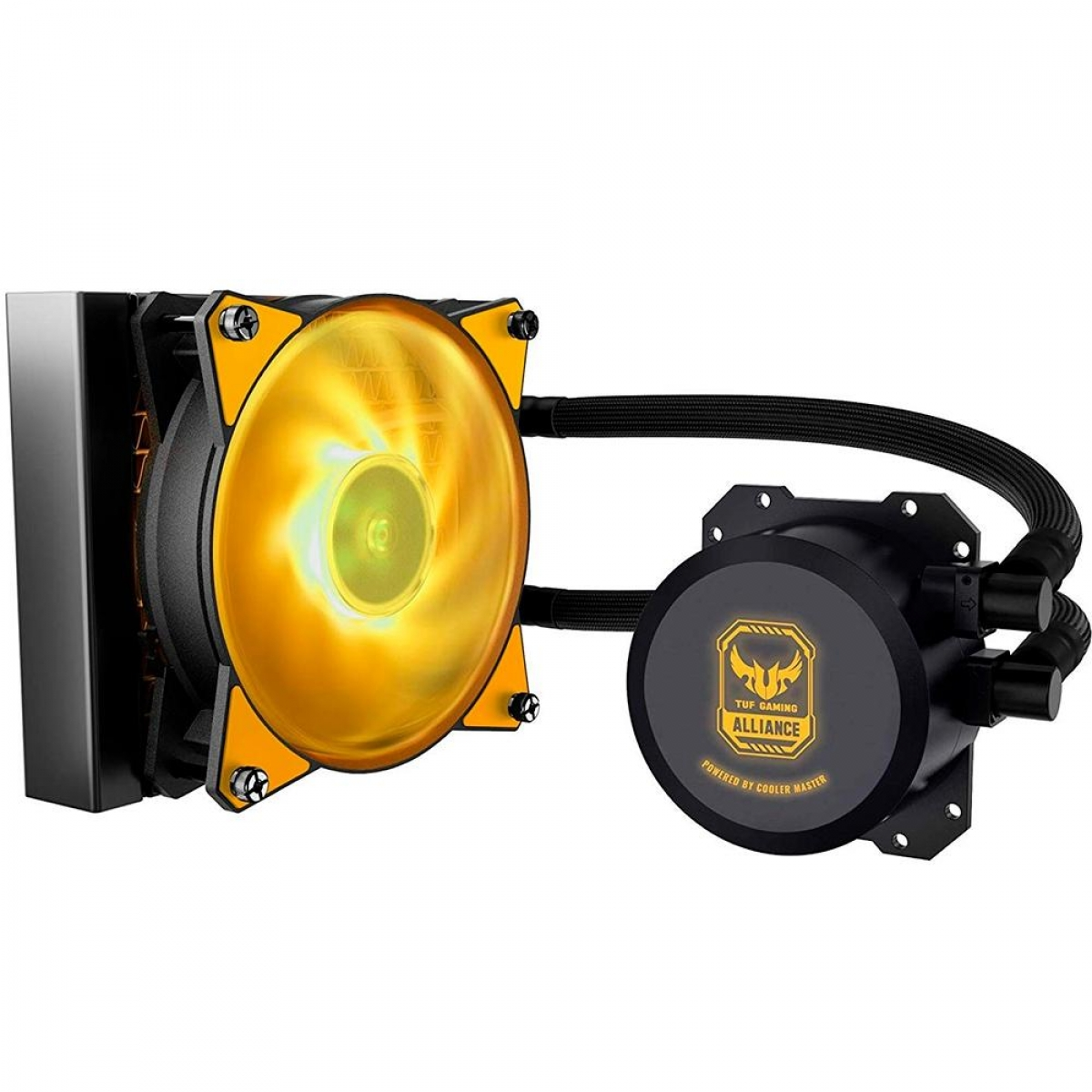 Water Cooler Cooler Master Masterliquid ML120L TUF Gaming RGB, 120mm, Intel-AMD, MLW-D12M-A20PW-RT