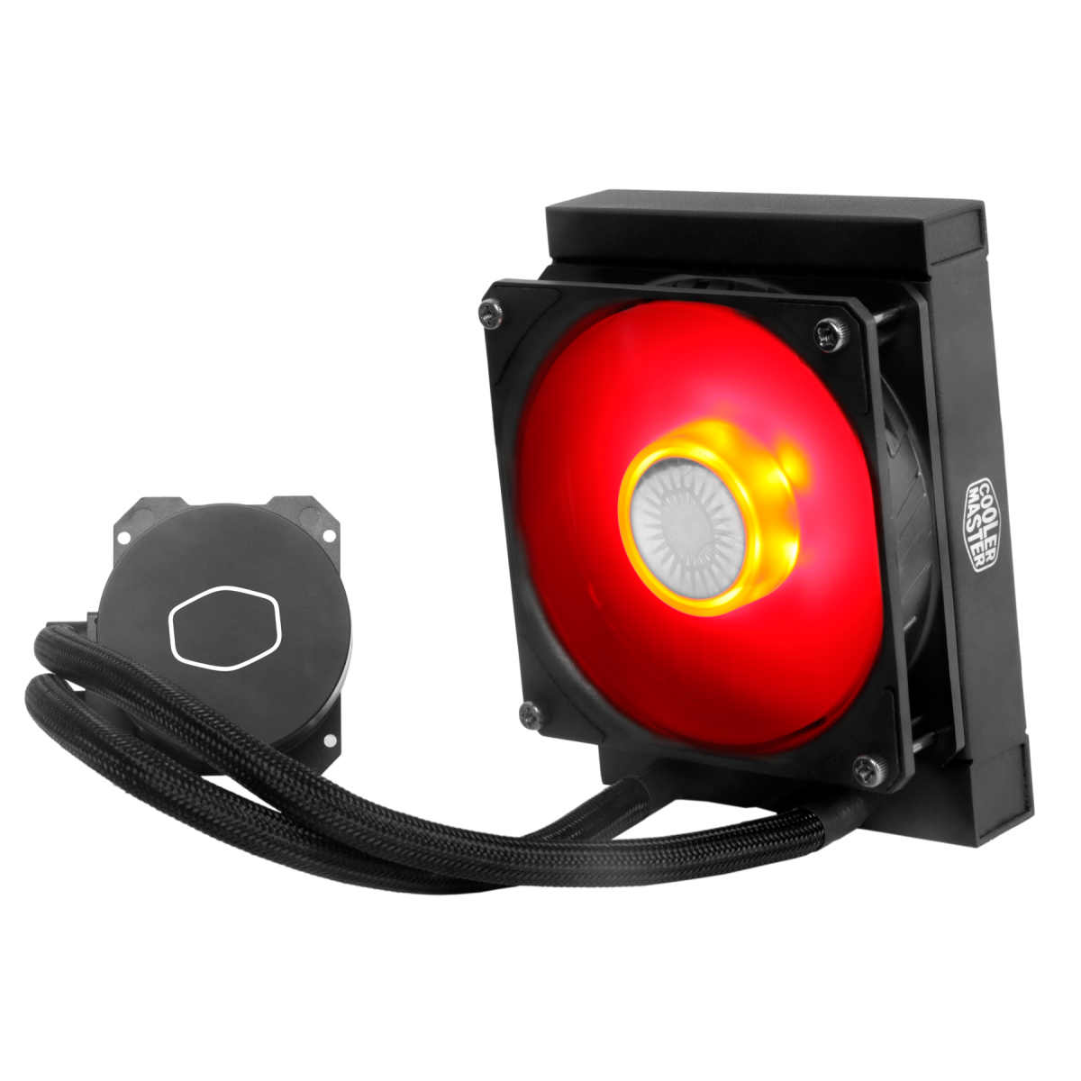 Water Cooler Cooler Master Masterliquid ML120L V2 Red, 120mm, Intel-AMD, MLW-D12M-A18PR-R2