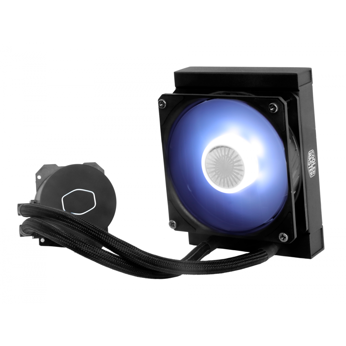 Water Cooler Cooler Master Masterliquid ML120L V2 White, 120mm, Intel-AMD, MLW-D12M-A18PW-R2