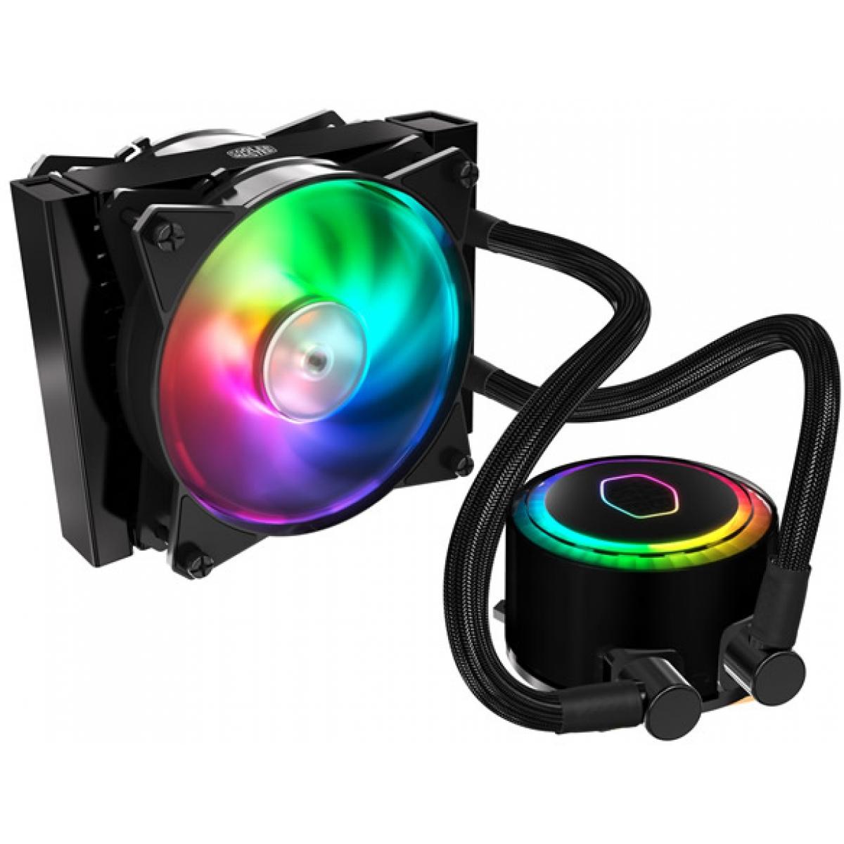 Water Cooler Cooler Master MasterLiquid ML120R RGB 120mm, Intel-AMD, MLX-D12M-A20PC-R1