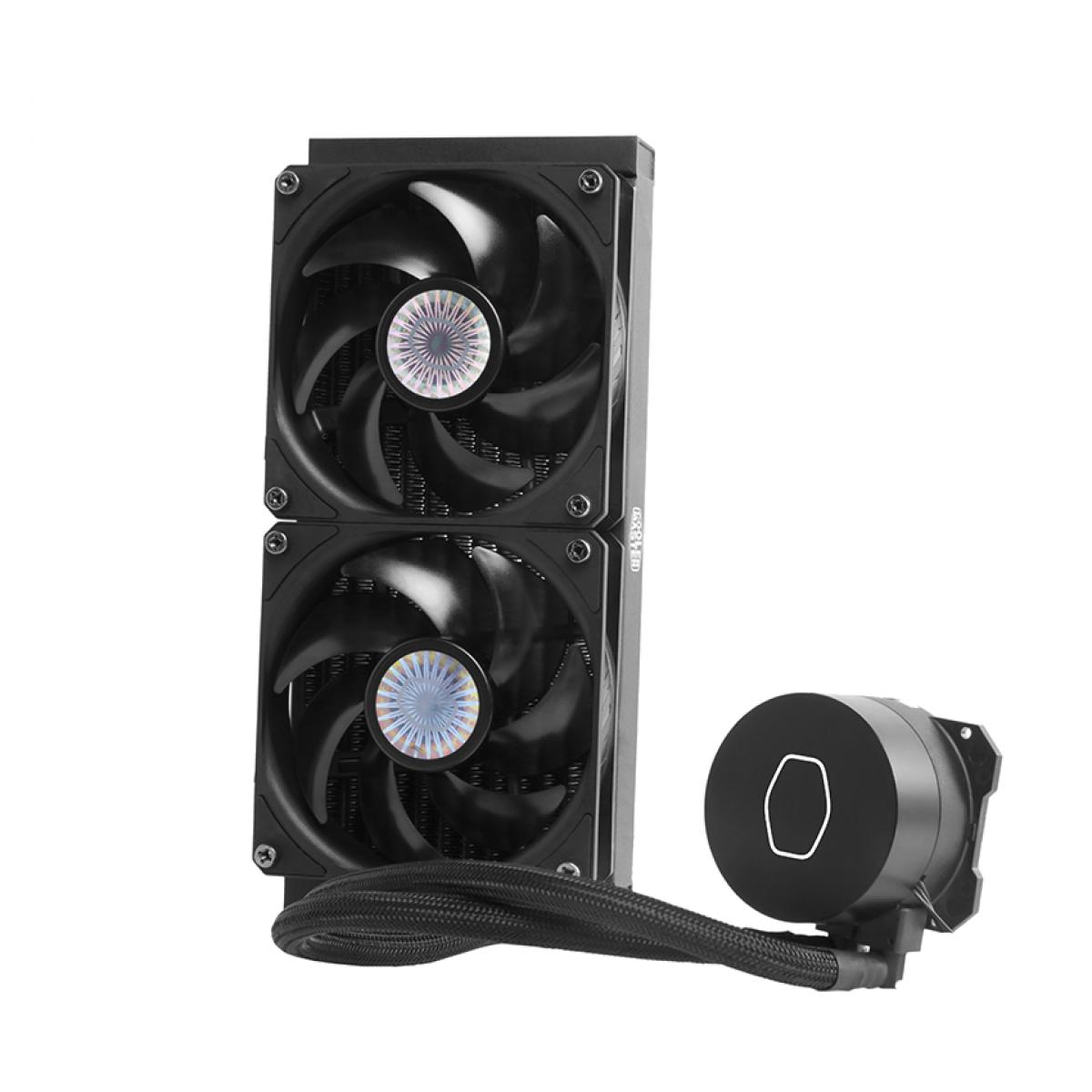Water Cooler Cooler Master MasterLiquid ML240L 240mm, Intel-AMD, MLW-D24M-A18PK-R2