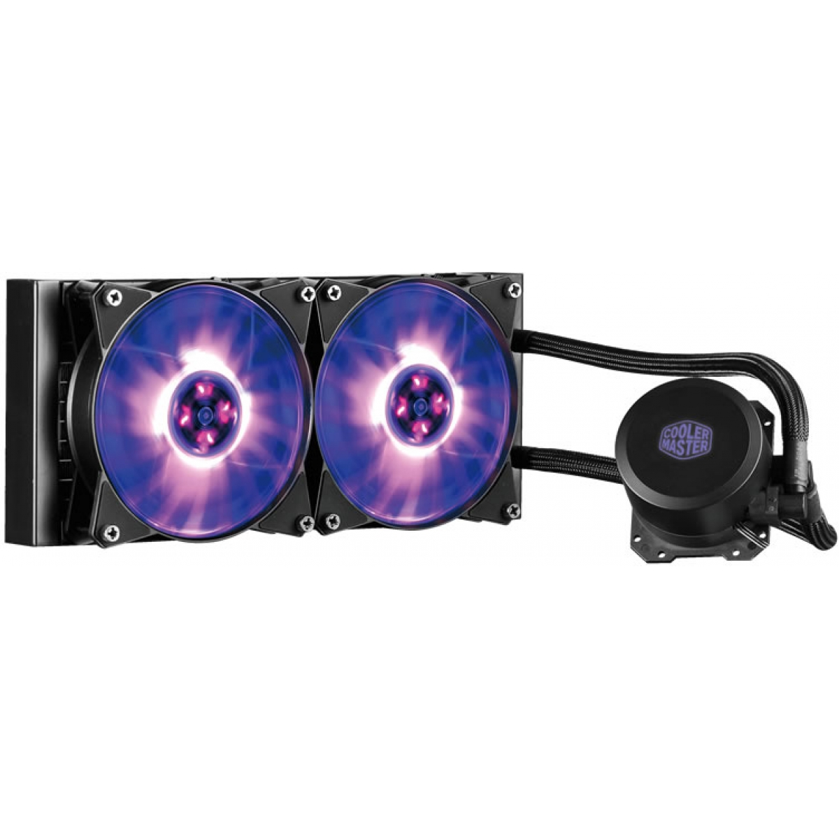 Water Cooler Cooler Master Masterliquid ML240L, RGB 240mm, Intel-AMD, MLW-D24M-A20PC-R1