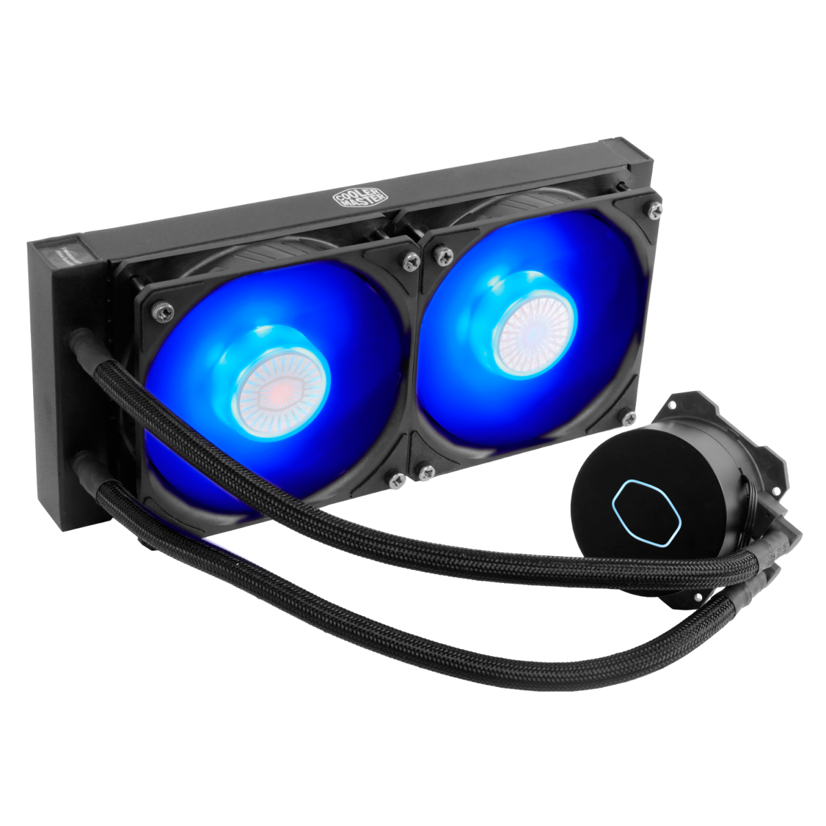Water Cooler Cooler Master Masterliquid ML240L V2 Blue, 240mm, Intel-AMD, MLW-D24M-A18PB-R2