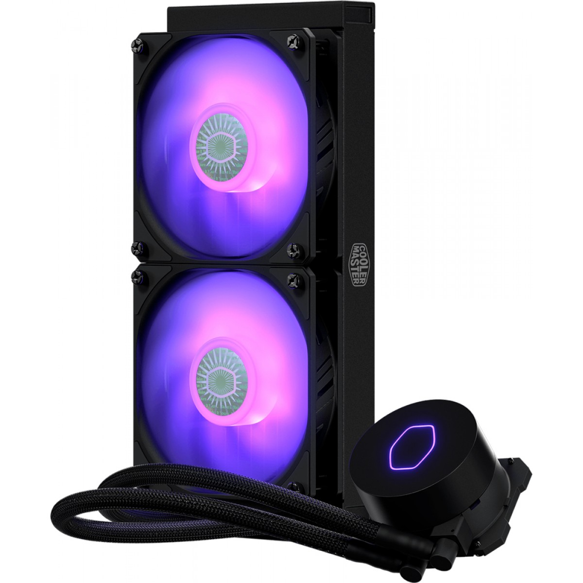 Water Cooler Cooler Master Masterliquid ML240L V2, RGB 240mm, Intel-AMD, MLW-D24M-A18PC-R2
