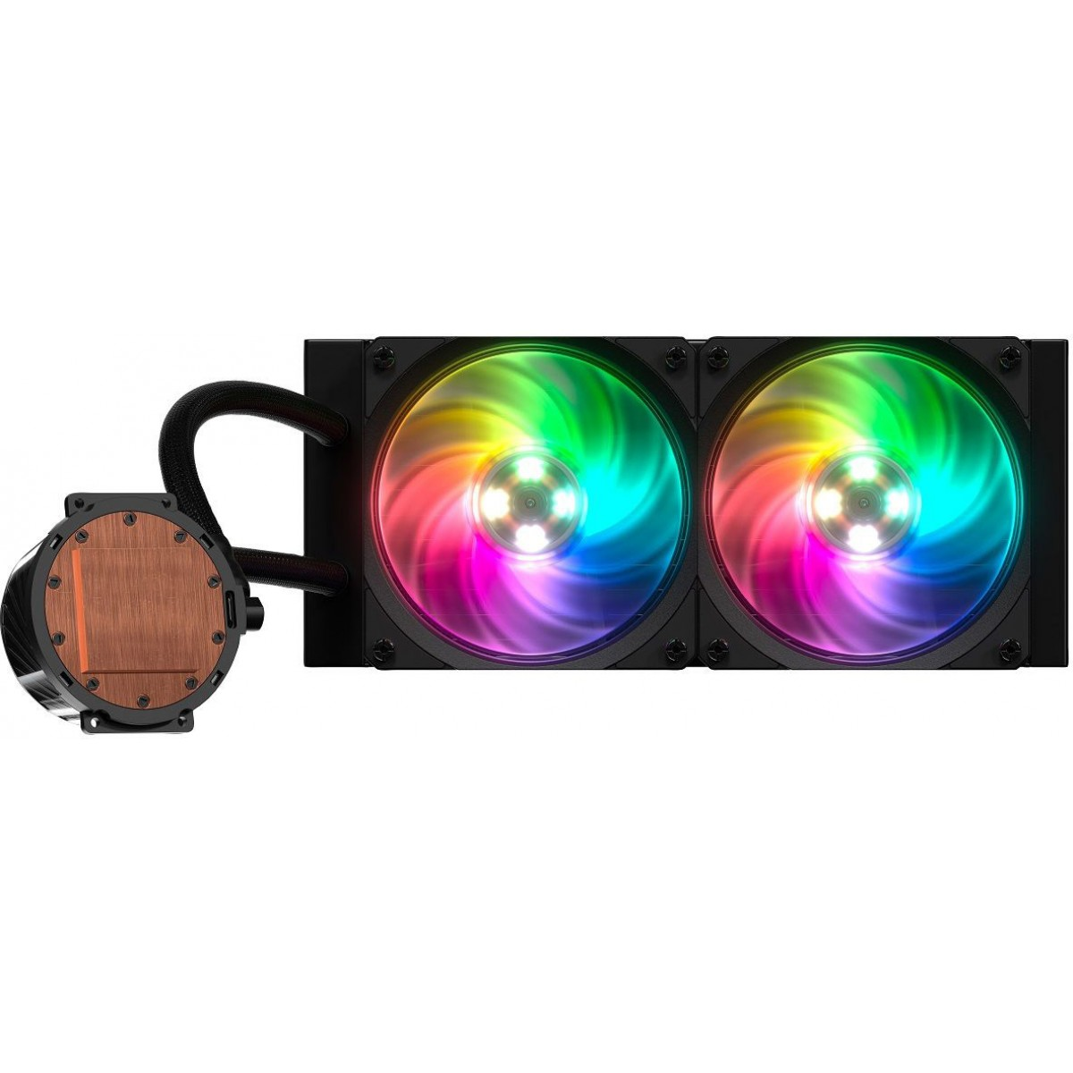 Water Cooler Cooler Master MasterLiquid ML240P Mirage, RGB 240mm, Intel-AMD, MLY-D24M-A20PA-R1