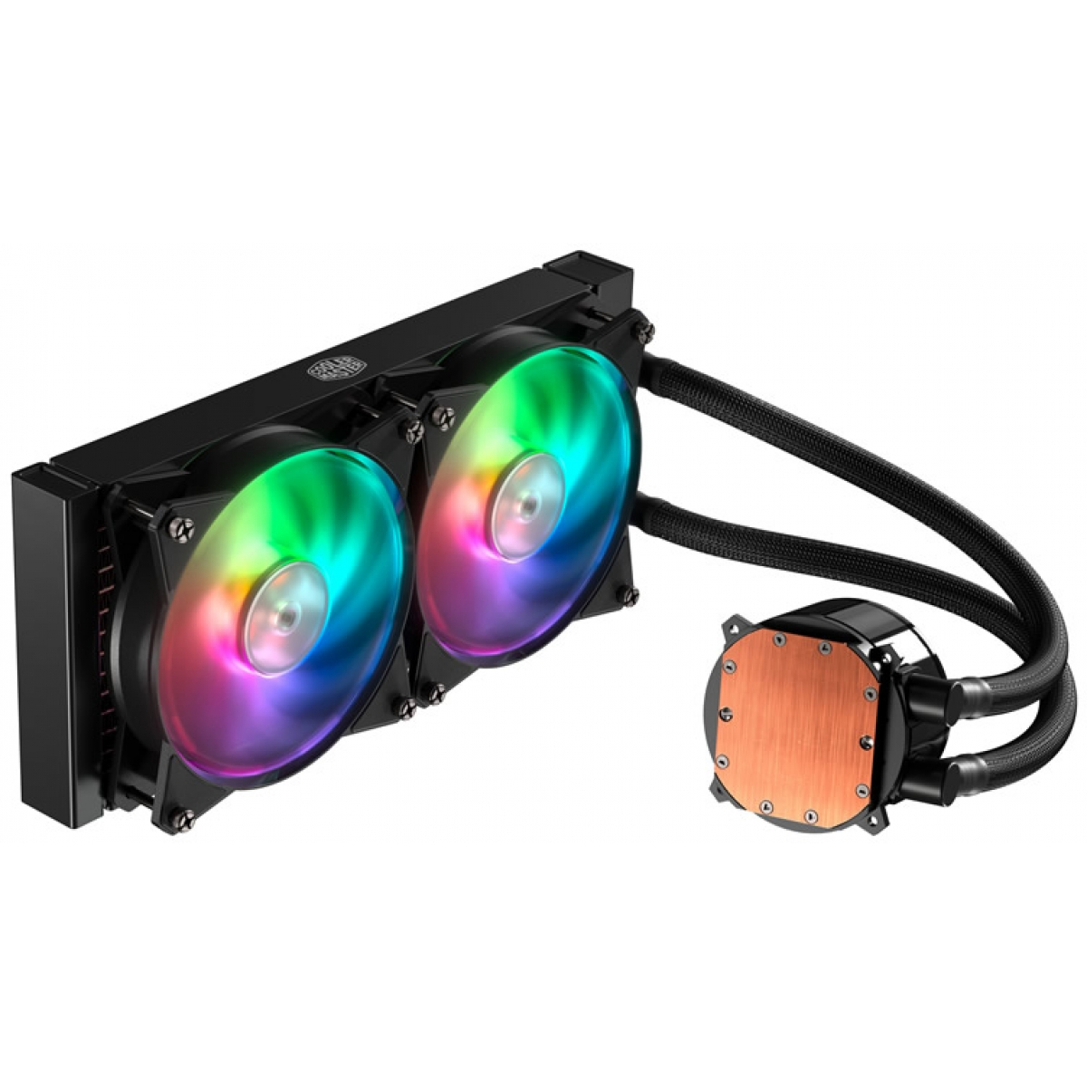 Water Cooler Cooler Master MasterLiquid ML240R, RGB 240mm, Intel-AMD, MLX-D24M-A20PC-R1
