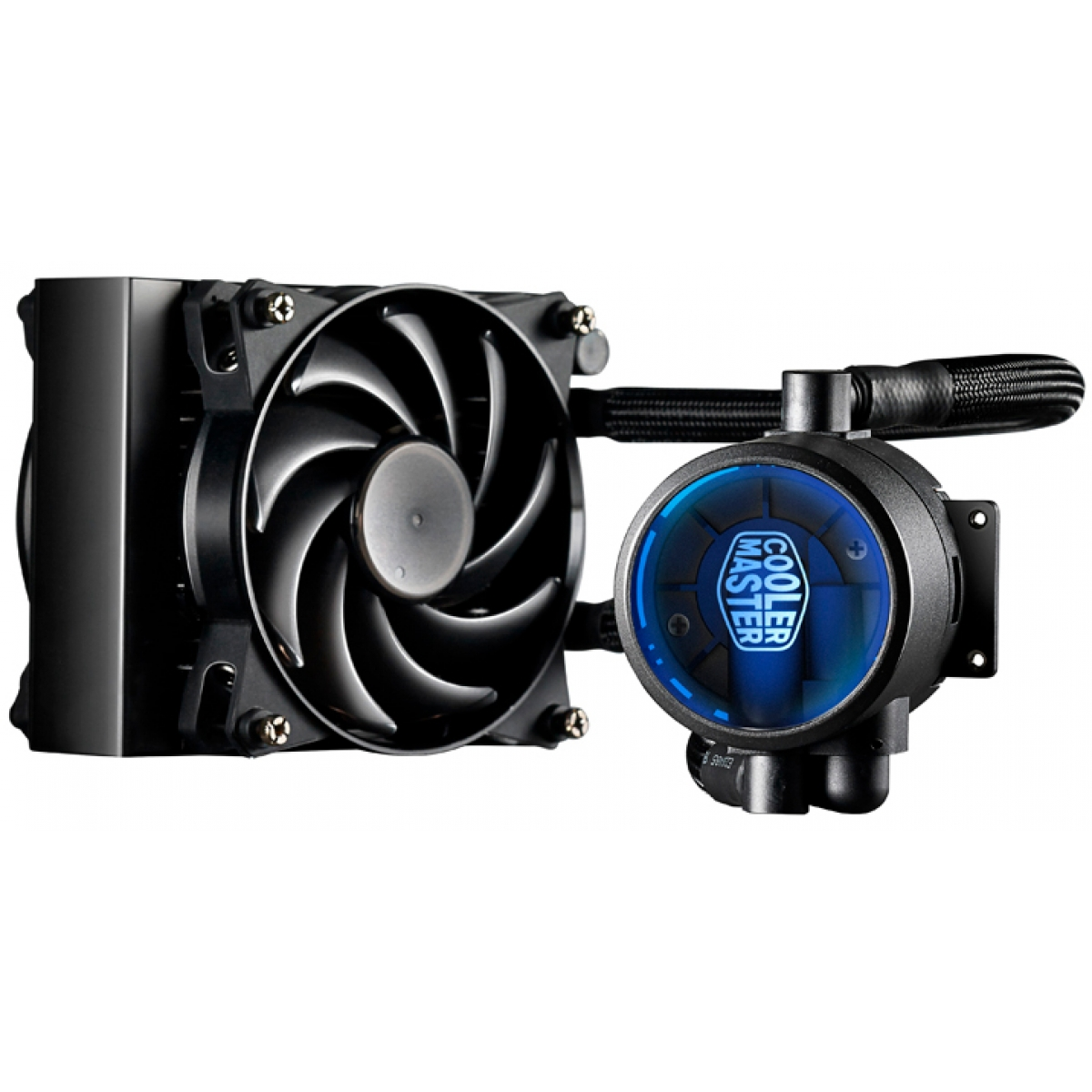 Water Cooler Cooler Master MasterLiquid Pro, 120mm, Intel-AMD, MLY-D12X-A20MB-R1