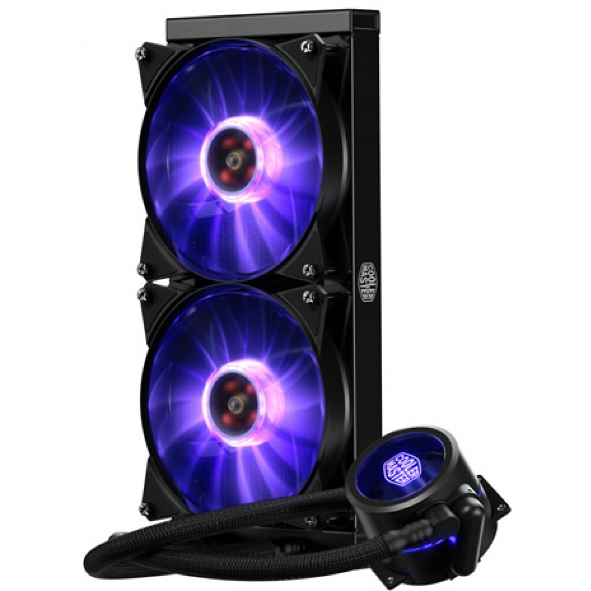 Water Cooler Cooler Master MasterLiquid Pro, RGB 280mm, Intel-AMD, MLY-D28M-A22PC-R1