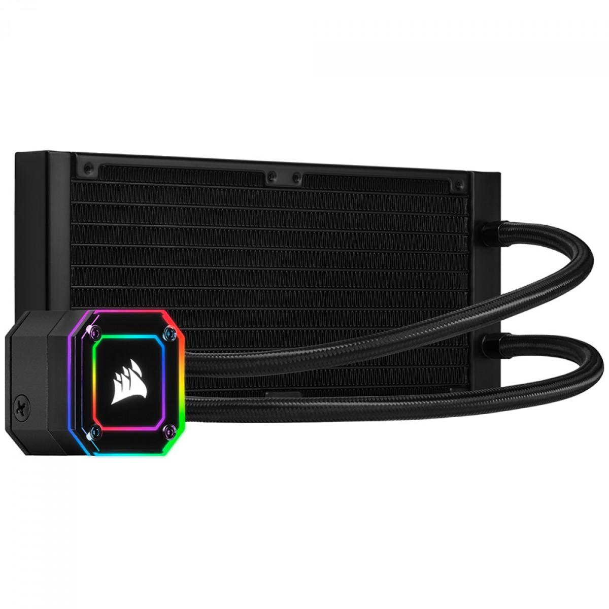 Water Cooler Corsair H100i Elite Cappelix, RGB, 240mm, Intel-AMD, CW-9060046-WW