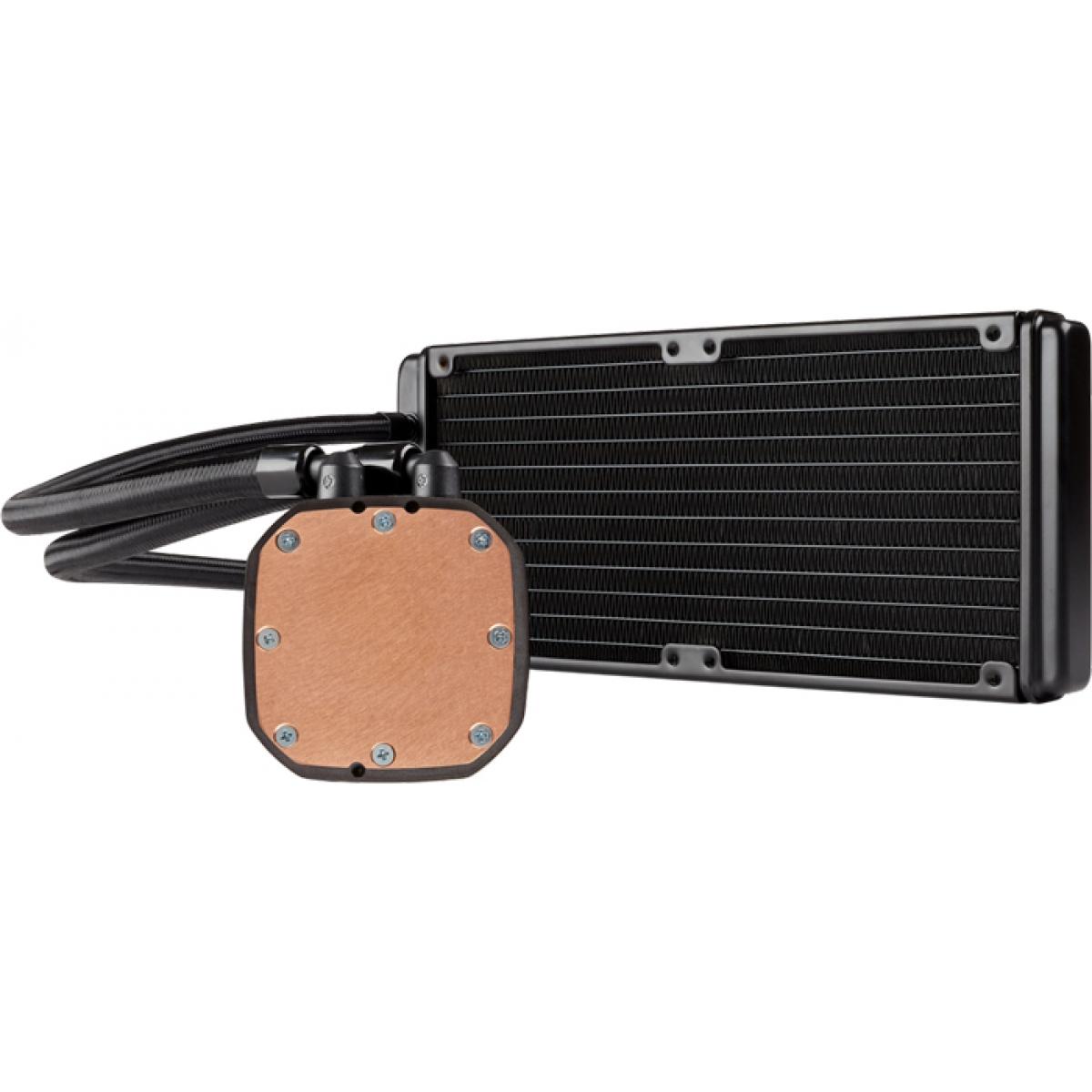 Water Cooler Corsair H100X 240mm, Intel-AMD, CW-9060040-WW