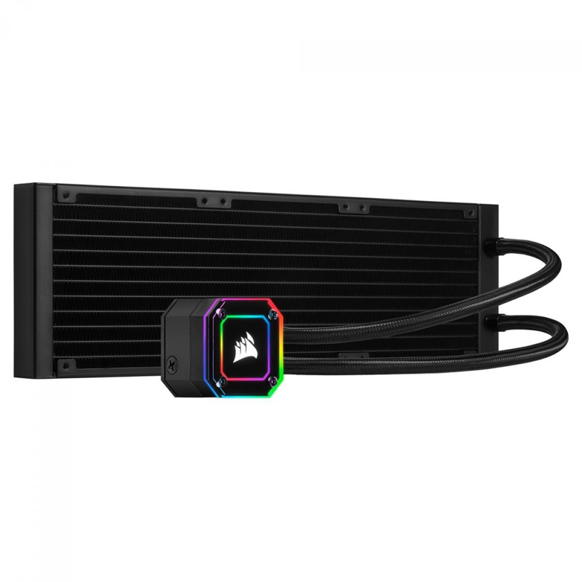 Water Cooler Corsair H150i Elite Cappelix, RGB, 360mm, Intel-AMD, CW-9060048-WW