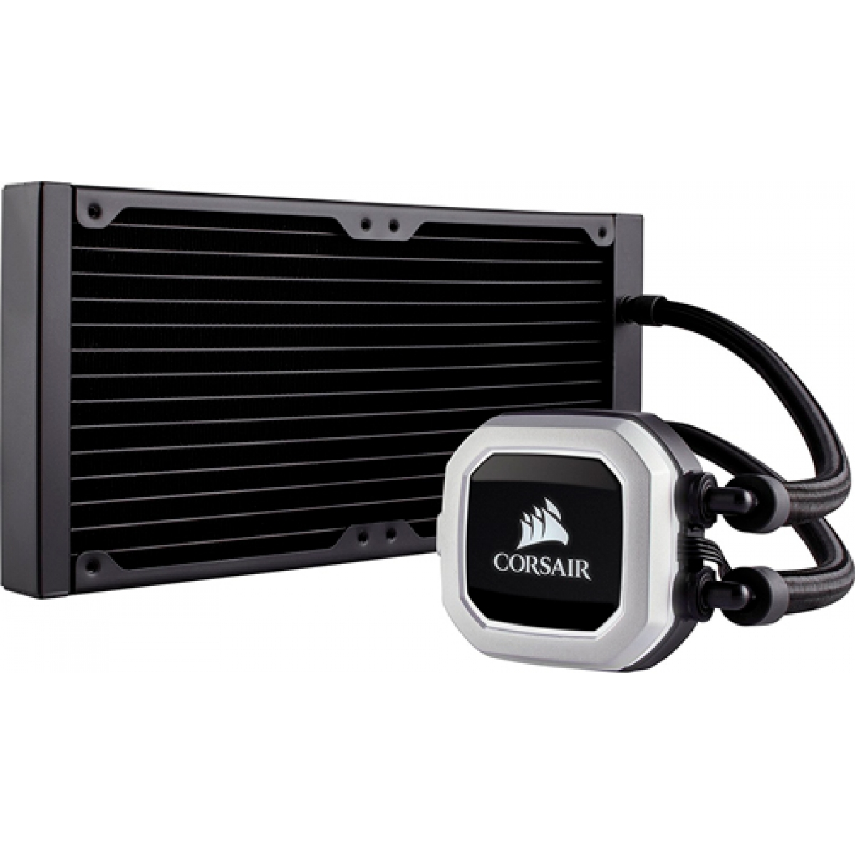Water Cooler Corsair H115i Pro, RGB 280mm, Intel-AMD, CW-9060032-WW