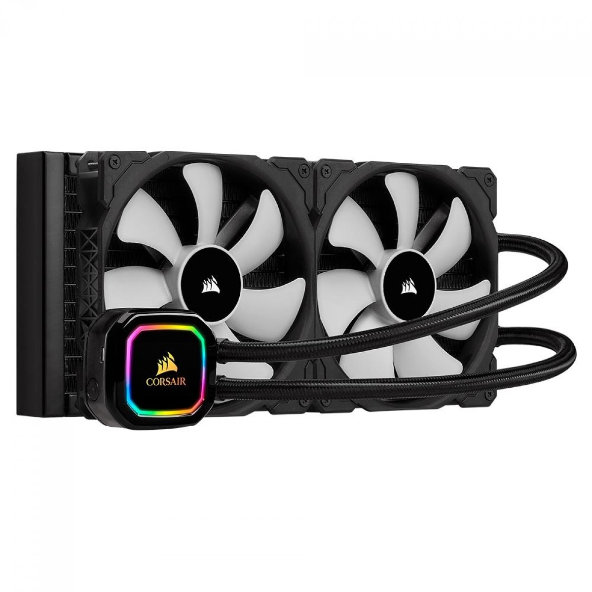 Water Cooler Corsair iCue H115i RGB PRO XT, 280mm, Intel-AMD, CW-9060044-WW