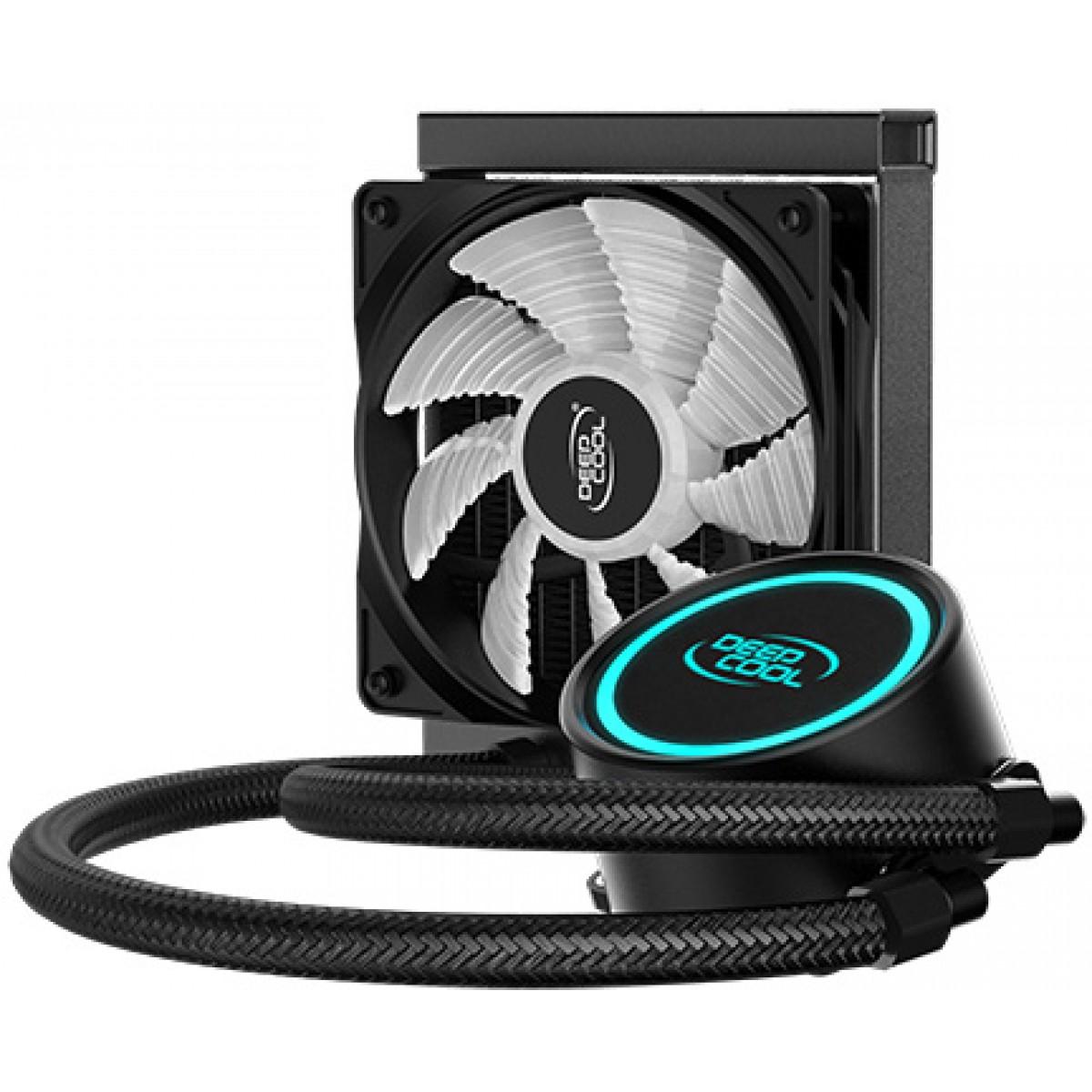 Water Cooler DeepCool Gammaxx L120 V2, RGB, 120mm, Intel-AMD, DP-H12RF-GL120V2