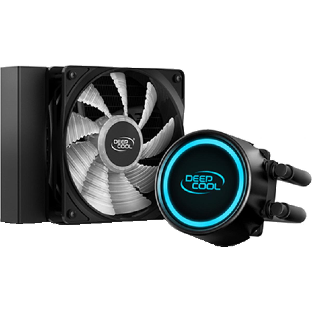 Water Cooler DeepCool Gammaxx L120T, LED Blue 120mm, Intel-AMD, DP-H12RF-GL120TB