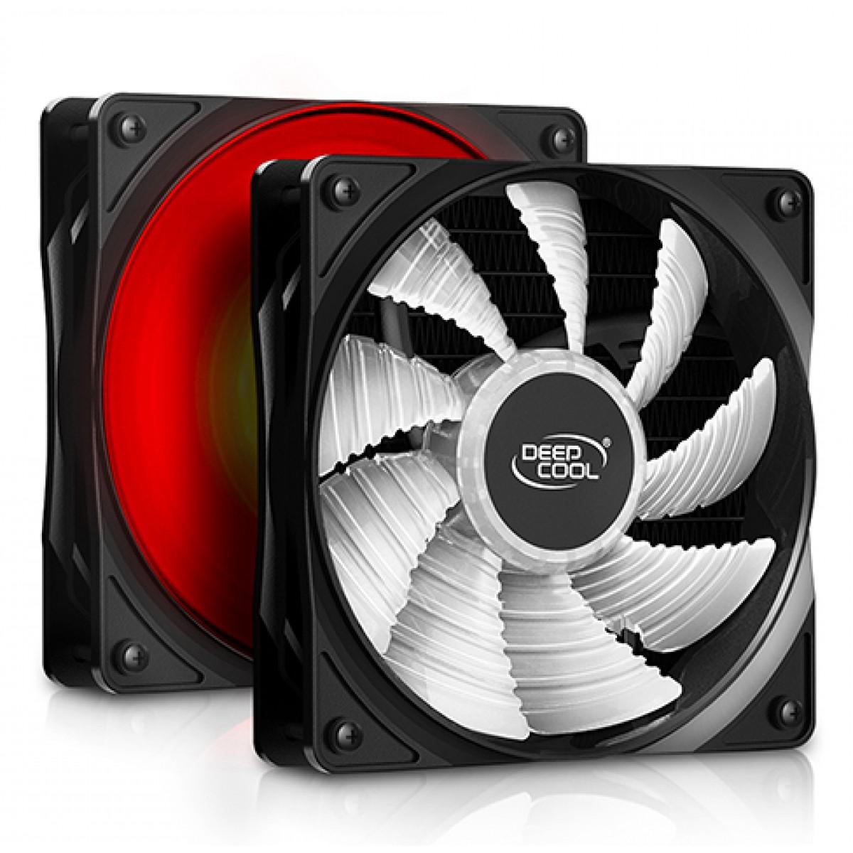 Water Cooler DeepCool Gammaxx L120T, LED Red 120mm, Intel-AMD, DP-H12RF-GL120TR