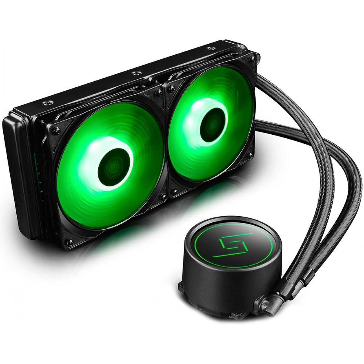Water Cooler DeepCool Gammaxx L240, RGB 240mm, Intel-AMD, DP-H24RF-GL240RGB