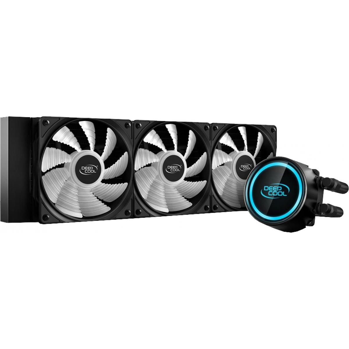 Water Cooler DeepCool Gammaxx L360 V2 RGB 360mm, Intel-AMD, DP-H12RF-GL360V2C