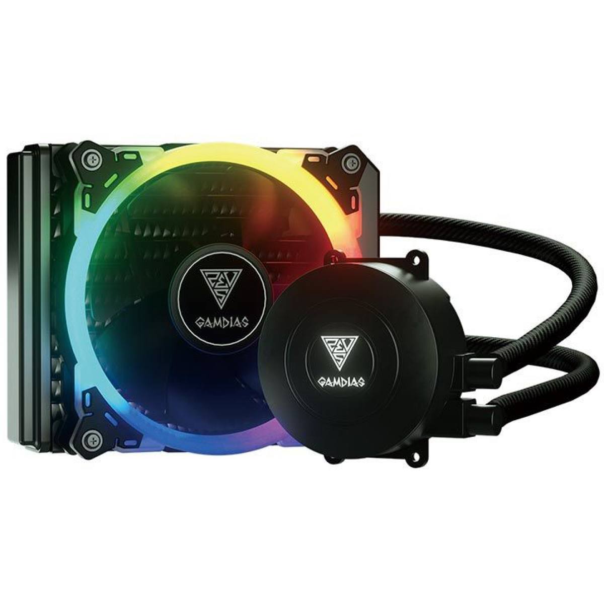 Water Cooler Gamdias Chione E1A, RGB 120mm, Intel-AMD