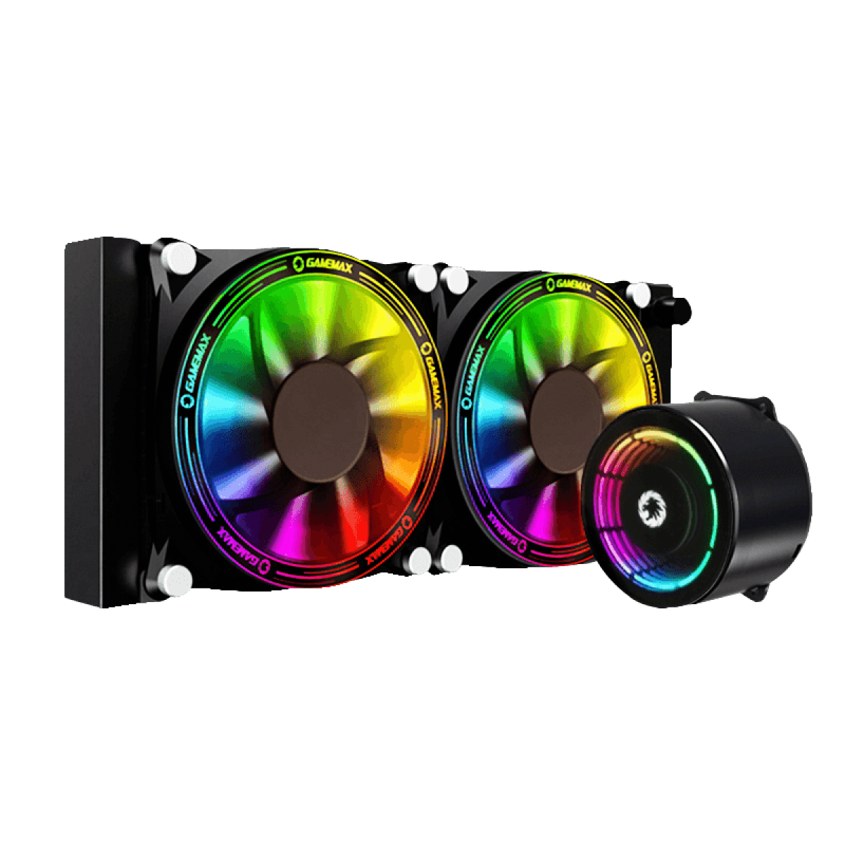 Water cooler GameMax Ice Chill 240, Rainbow ARGB 240mm, Intel-AMD