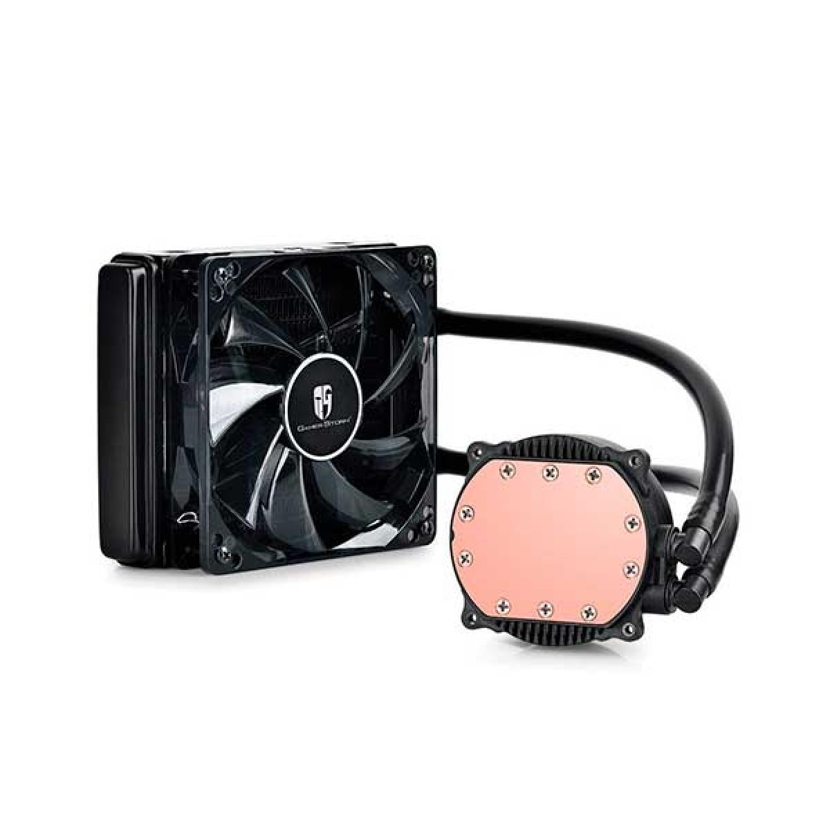 Water Cooler Gamer Storm Maelstrom DeepCool 120T, LED White 120mm, Intel-AMD, DP-GS-H12RL-MS120TWF