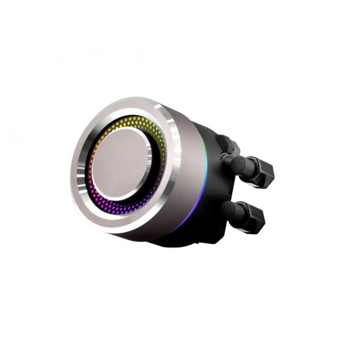 Water Cooler Lian Li, Galahad, RGB 240mm, Intel-AMD, Black, GA-240B BLACK