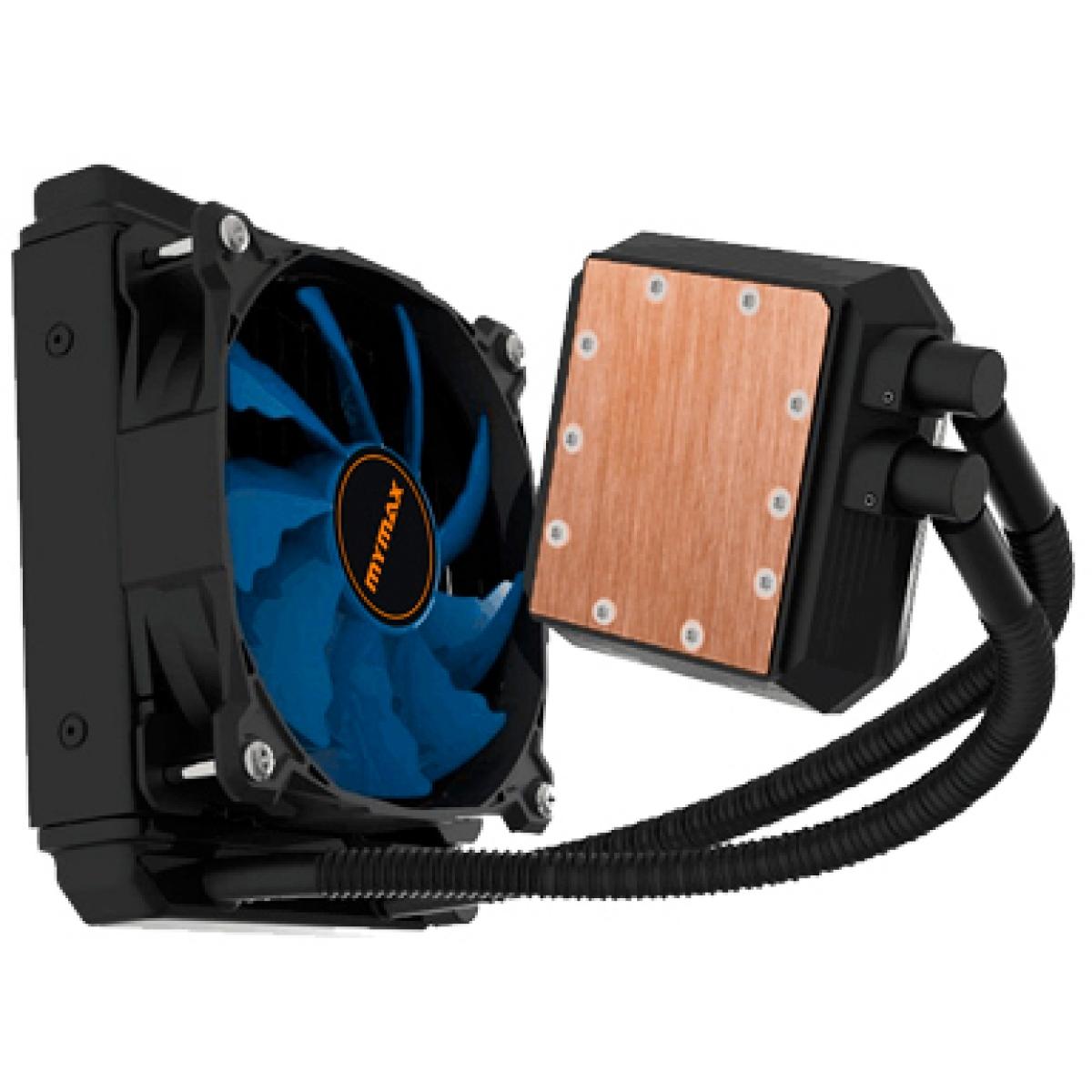 Water Cooler Mymax Algor, LED Blue 120mm, Intel-AMD, MYC-FC-V2