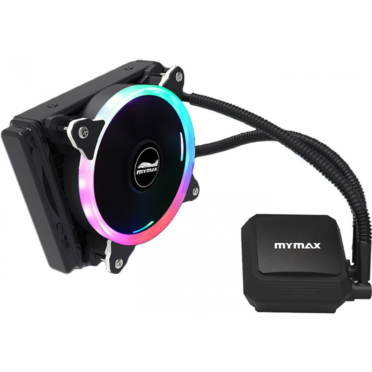 Water Cooler Mymax Algor, RGB 120mm, Intel-AMD, MYC-FC-V2-120MM/RG