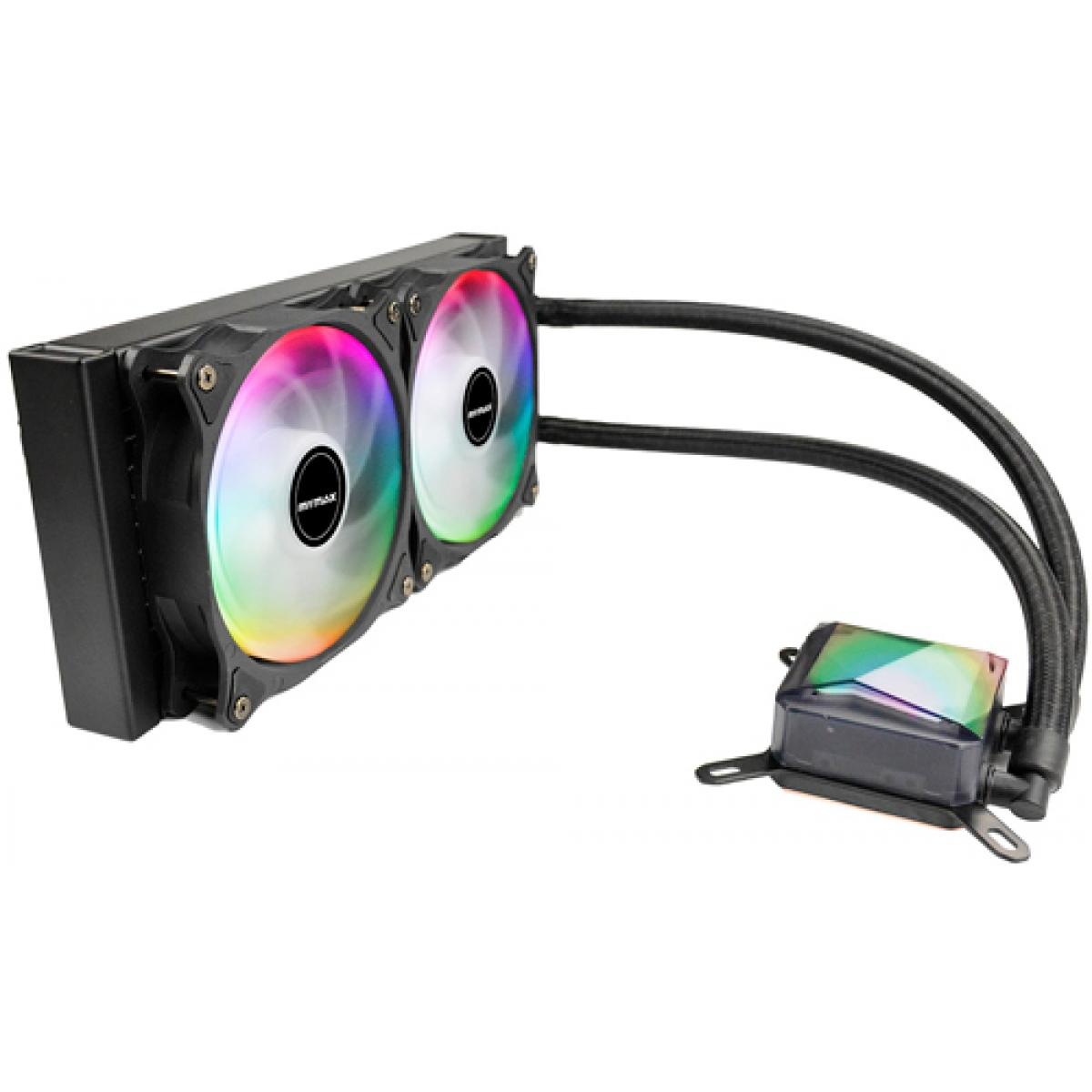 Water Cooler Mymax Algor, RGB 240mm, Intel-AMD, MYC-FC-V2-240-RGB