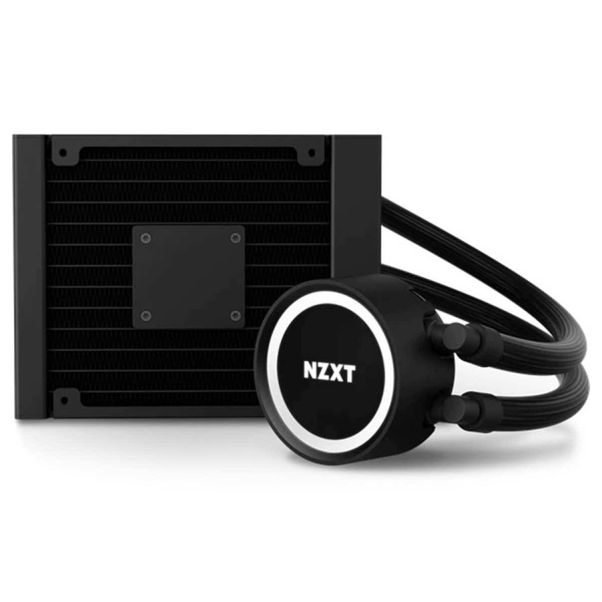Water Cooler NZXT Kraken 120, RGB, 120mm, INTEL/AMD, RL-KR120-B1