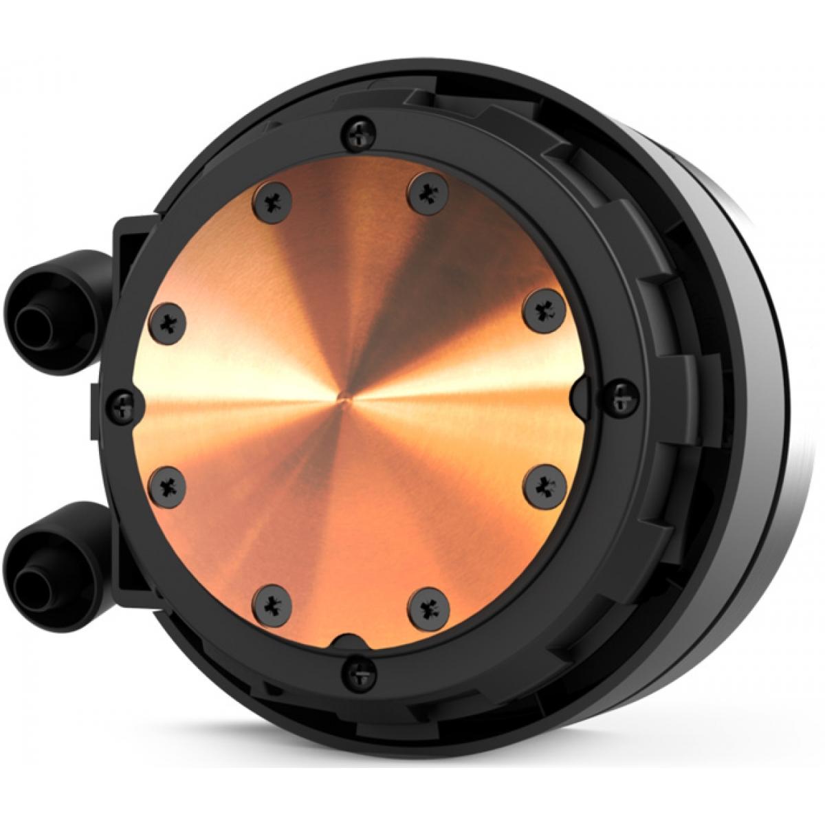 Water Cooler NZXT Kraken X52, RGB 240mm, INTEL/AMD, RL-KRX52-02