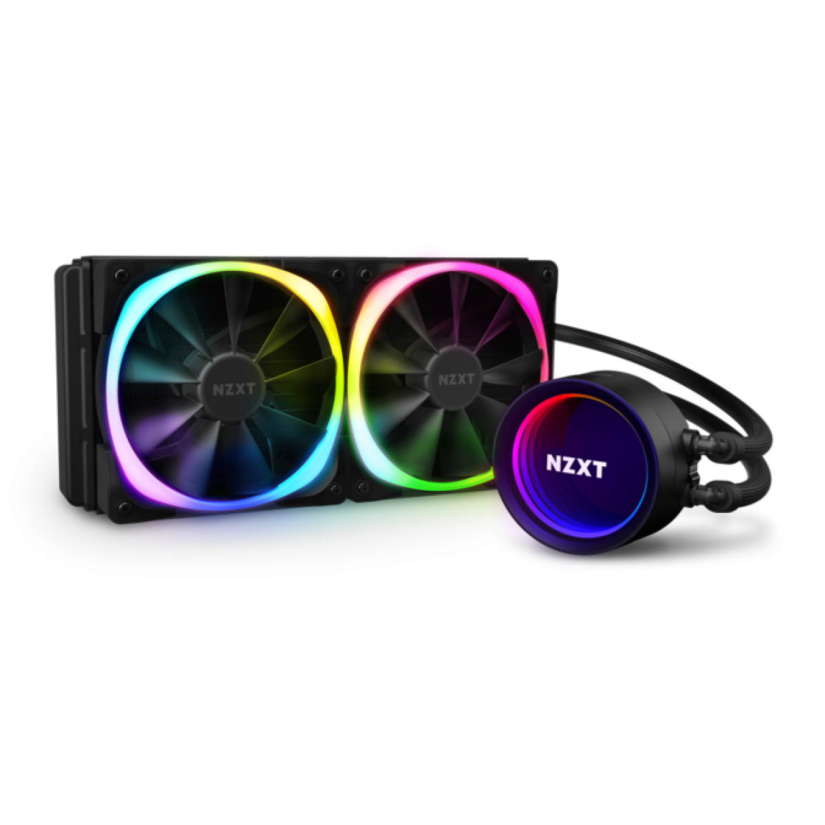 Water Cooler NZXT Kraken X53 RGB, 240mm, Intel-AMD, RL-KRX53-R1