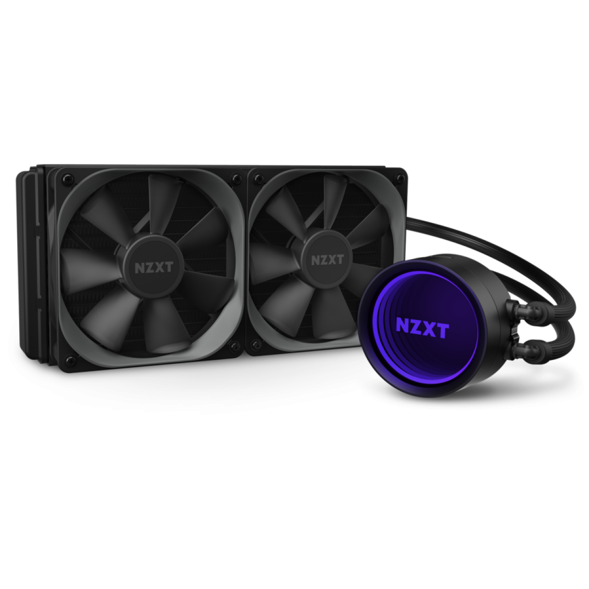 Water Cooler NZXT Kraken X53, RGB 240mm, INTEL/AMD, RL-KRX53-01