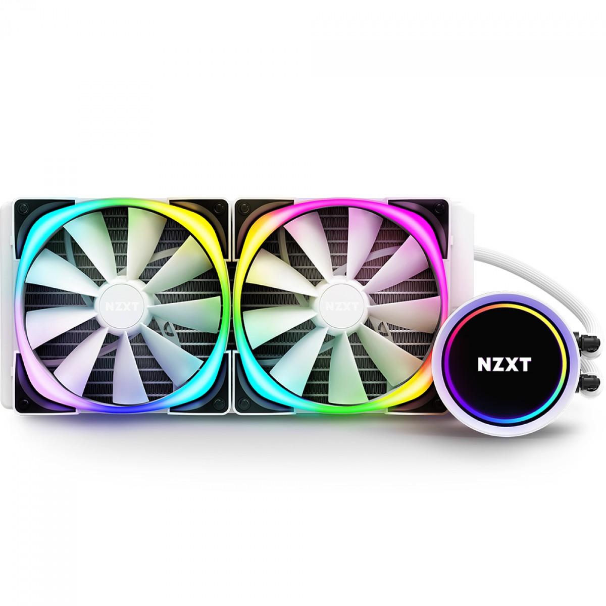 Water Cooler NZXT Kraken X63 RGB, 280mm, White, INTEL/AMD, RL-KRX63-RW