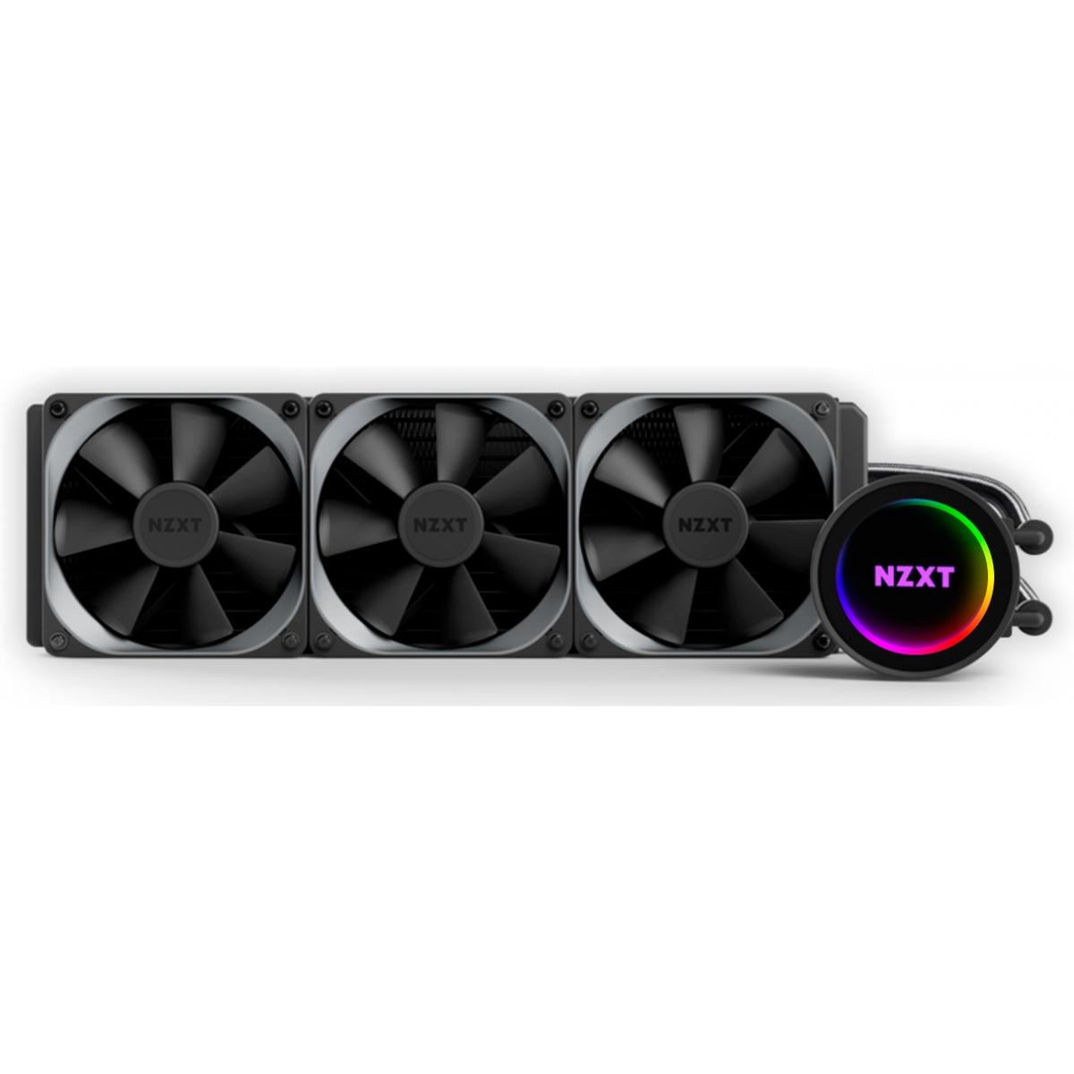 Water Cooler NZXT Kraken X72 RGB 360mm, Intel, RL-KRX72-01