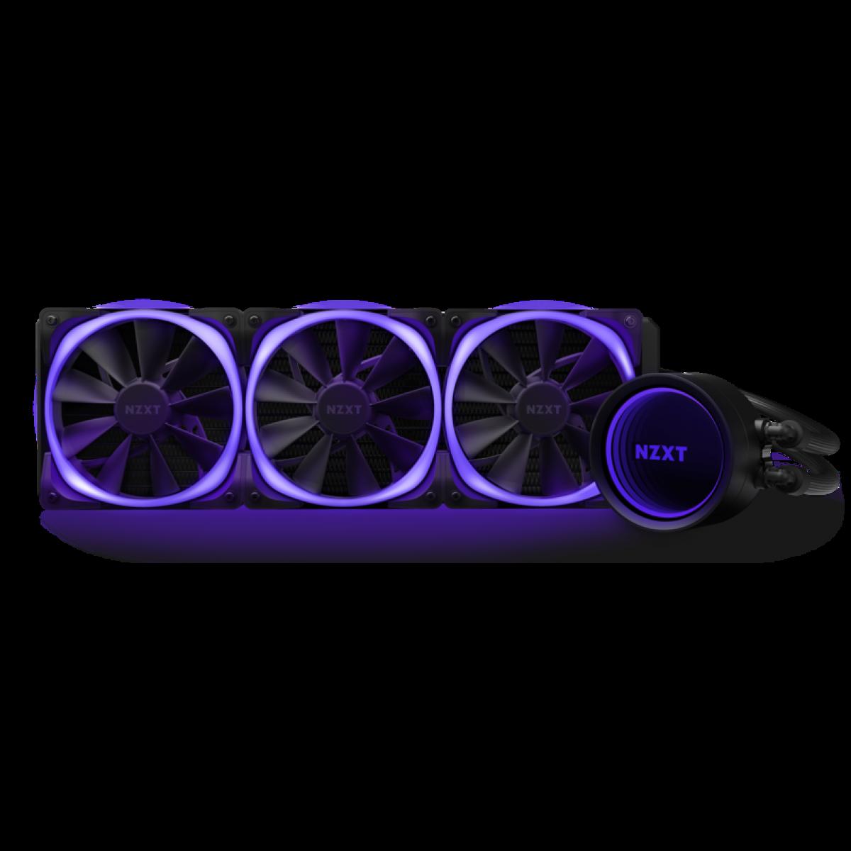 Water Cooler NZXT Kraken X73 RGB, 360mm, Intel-AMD, RL-KRX73-R1