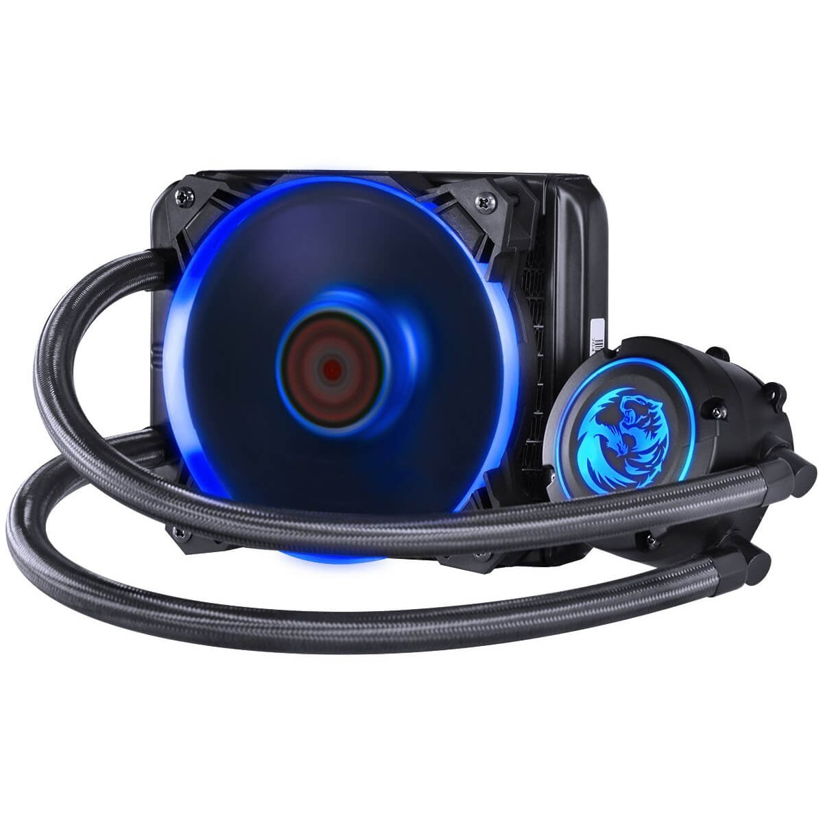 Water Cooler PCyes Nix, RGB 120mm, Intel-AMD, PWC120H40PTRGB