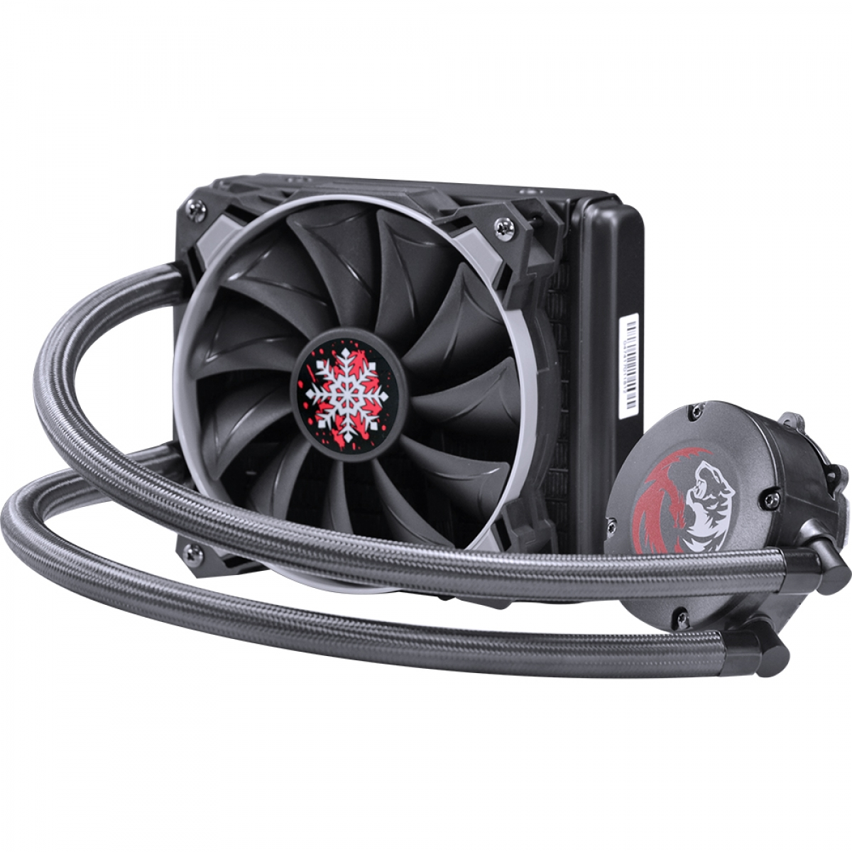 Water Cooler PCyes Sangue Frio, 120mm, Intel-AMD, PWC120H40PTSL