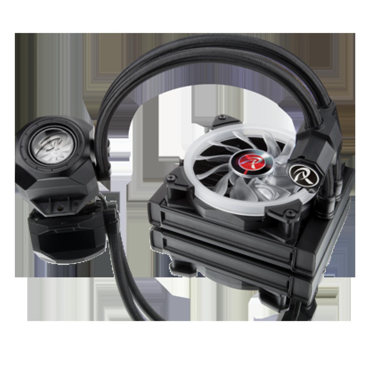 Water Cooler Raijintek ORCUS 120 RBW, 120mm, Intel-AMD, 0R10B00102
