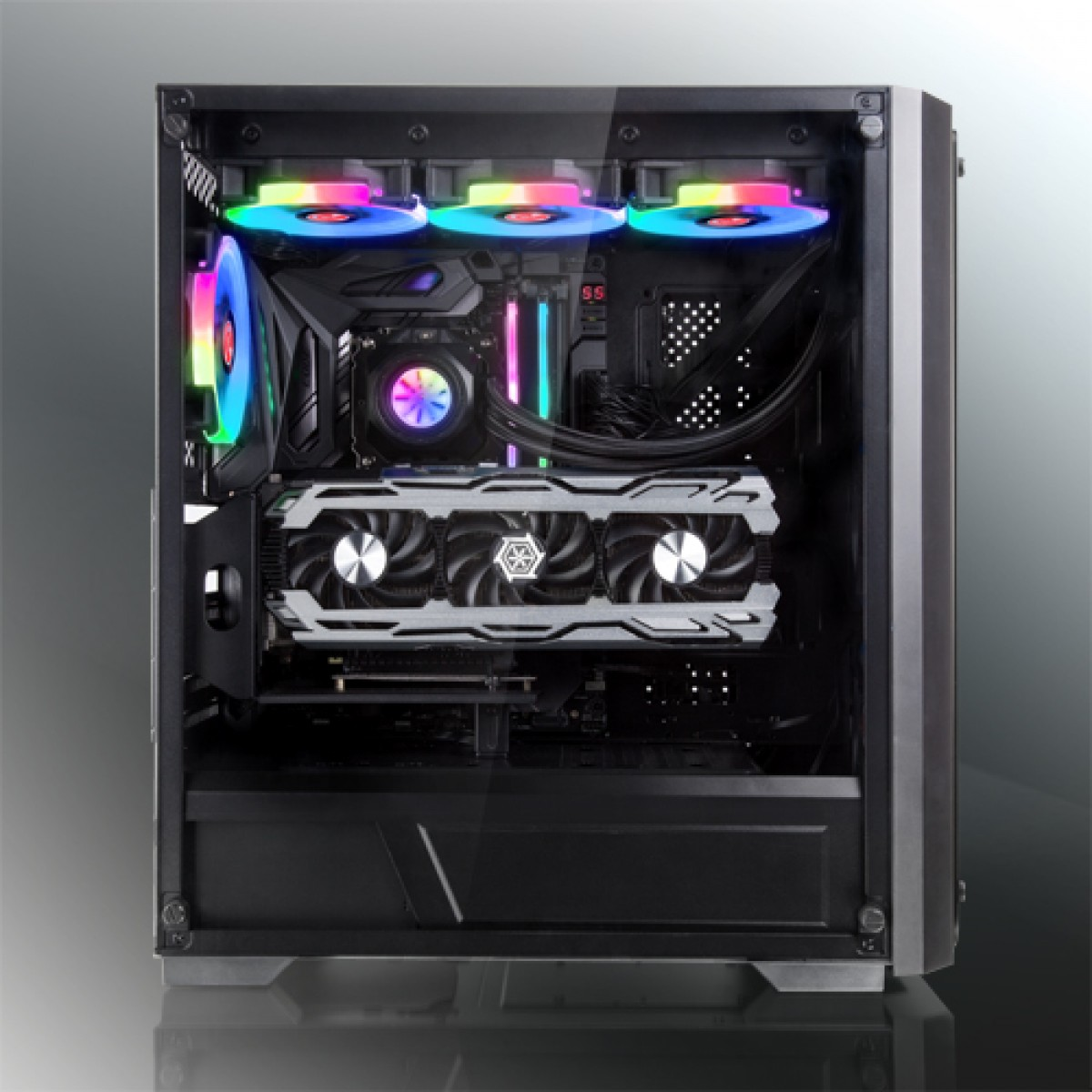 Water Cooler Raijintek ORCUS 240 RBW, 240mm, Intel-AMD, 0R10B00105