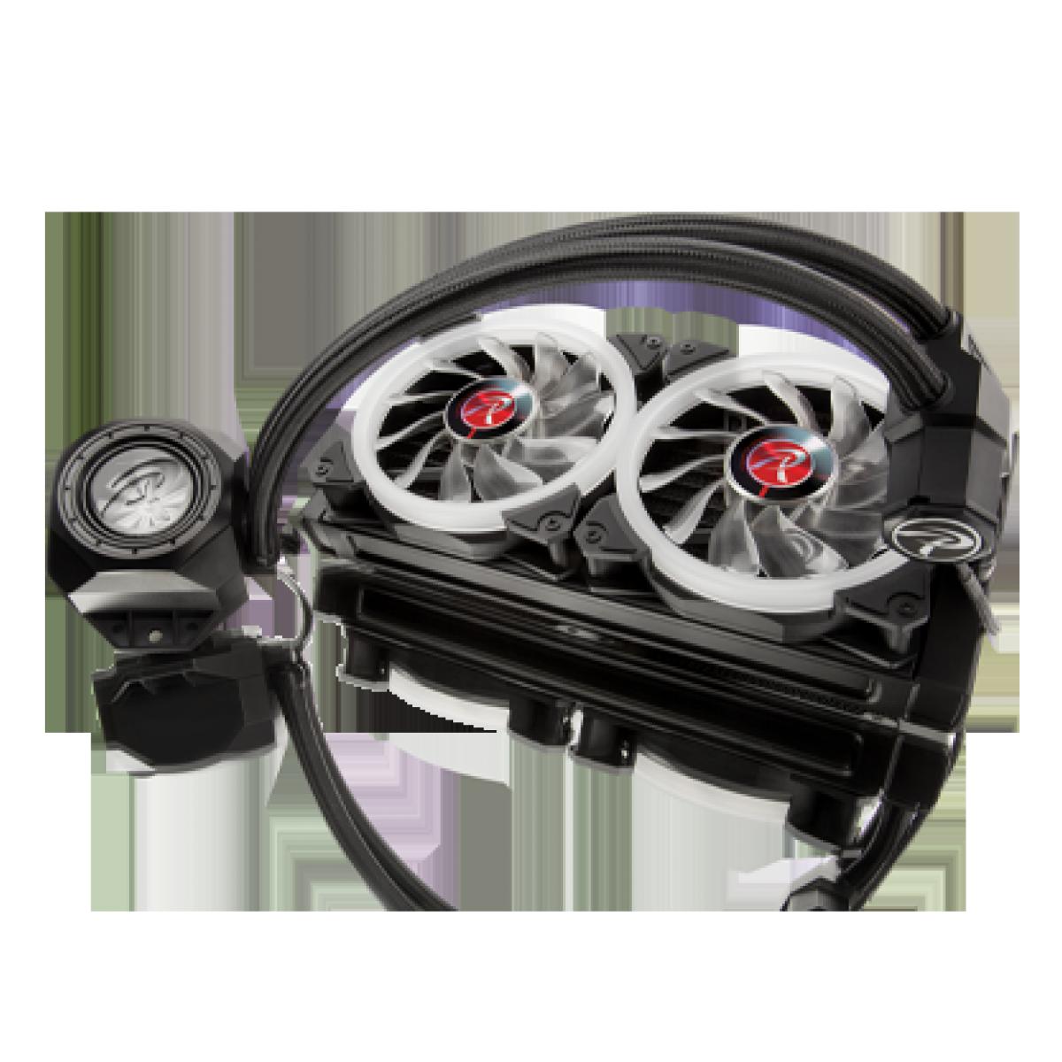 Water Cooler Raijintek ORCUS 240 RBW, 240mm, Intel-AMD, 0R10B00105