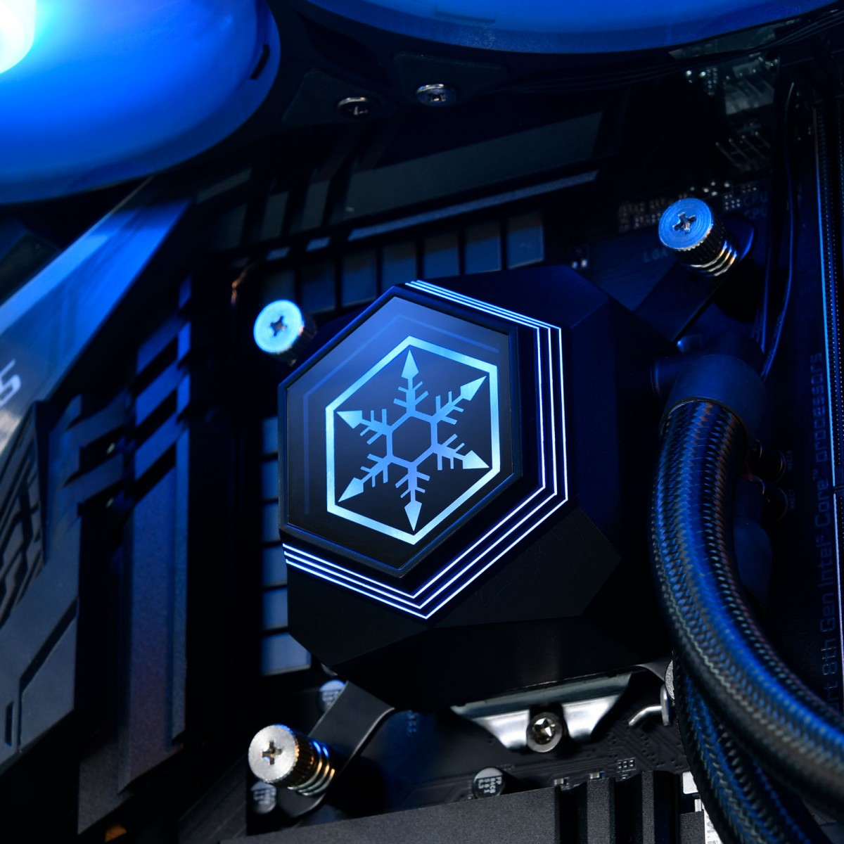 Water Cooler SilverStone PF360-ARGB, 360mm, Intel-AMD, SST-PF360-ARGB