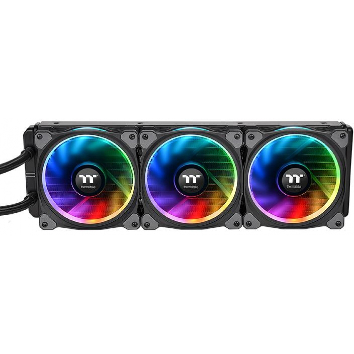 Water Cooler Thermaltake Floe Riing, RGB 360mm, Intel-AMD, CL-W158-PL12SW-A
